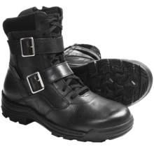 "Harley-Davidson Cedar 9.5"" Boots - Full-Grain Leather, Side Zip (For Men) in Black - Closeouts"
