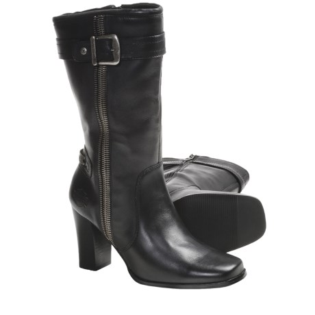"Harley-Davidson Danica 12"" Boots - Leather (For Women) in Black"