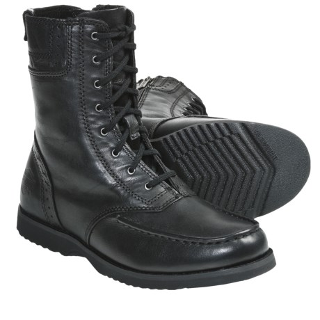 Harley-Davidson Dessay Leather Boots (For Women) in Black