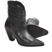 Harley-Davidson Diane Boots - Leather (For Women) in Black - Closeouts