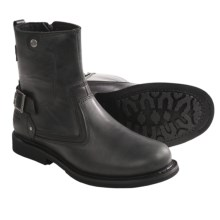 "Harley-Davidson Gavin Boots - 8"", Leather, Side Zip (For Men) in Black - Closeouts"