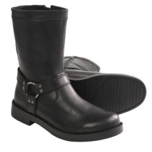 "Harley-Davidson Kaden Harness Boots - 10.5"" (For Men) in Black - Closeouts"