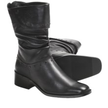 Harley-Davidson Leah Boots - Leather (For Women) in Black - Closeouts
