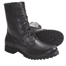"Harley-Davidson Overland 9"" Boots- Full-Grain Leather, Side Zip (For Men) in Black - Closeouts"