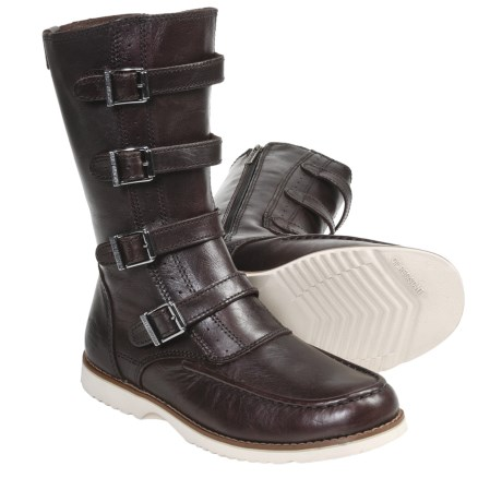 Harley-Davidson Regina Leather Boots (For Women) in Brown