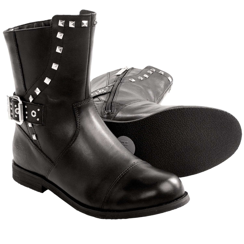 Creative HarleyDavidson Bonita Motorcycle Boots  Leather For Women  Save