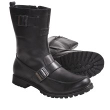 Harley-Davidson Sentinnel Pull-On Boots - Leather (For Men) in Black - Closeouts