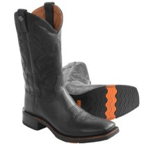 "Harley-Davidson Stockwell Western Motorcycle Boots - 11"" (For Men) in Black - Closeouts"