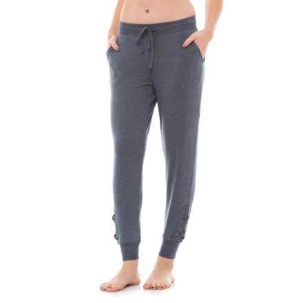 Harmony and Balance Drawstring Joggers (For Women) in Slate - Closeouts