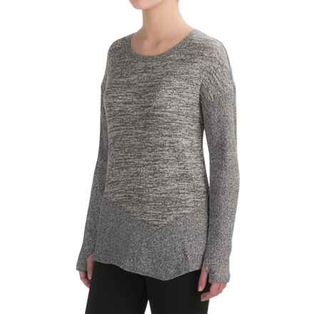 Harmony and Balance Hacci Shirt - Long Sleeve (For Women) in Grey Comb - Closeouts