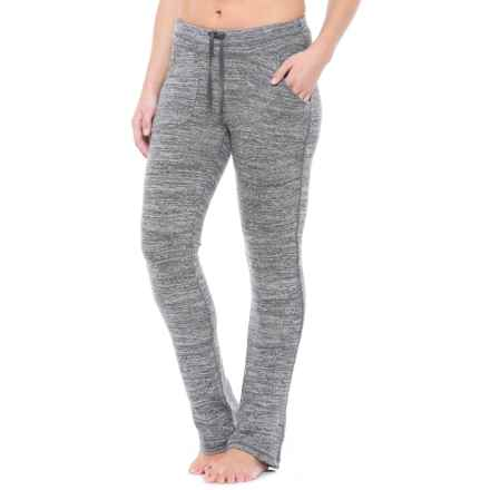 Harmony and Balance Heather Hacci Lounge Pants (For Women) in Grey/Black Combo - Closeouts