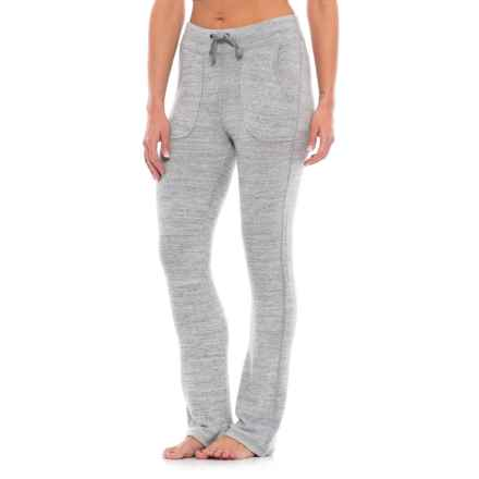Harmony and Balance Heather Hacci Lounge Pants (For Women) in Light Grey Combo - Closeouts