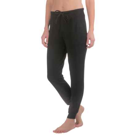 Harmony and Balance Knit Joggers (For Women) in Black - Closeouts