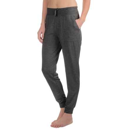 Harmony and Balance Knit Joggers (For Women) in Charcoal Heather - Closeouts