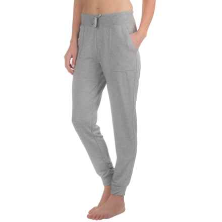 Harmony and Balance Knit Joggers (For Women) in Grey Heather - Closeouts