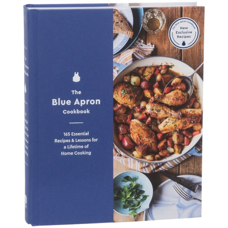 Harper Collins The Blue Apron Cookbook - Hardcover in See Photo