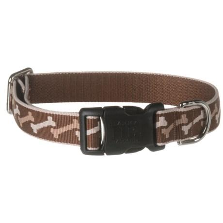 Harry Barker Beaune Dog Collar in Brown