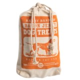 Harry Barker Camper Bacon Jerky Dog Treats with Canvas Bag