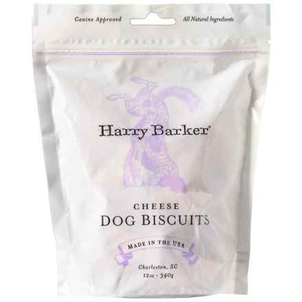 Harry Barker Cheese Dog Biscuit Treats - 12 oz. in Cheese - Closeouts