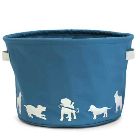 Harry Barker Eco Dog Toy Storage Bin in Blue - Closeouts