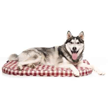 "Harry Barker Harry's Favorite Futon Dog Bed - 35x26"" in Red Check - Closeouts"