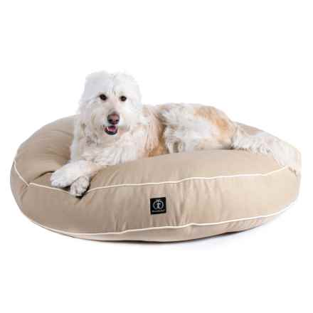 "Harry Barker Round Dog Bed - Medium, 35"" in Tan - Closeouts"