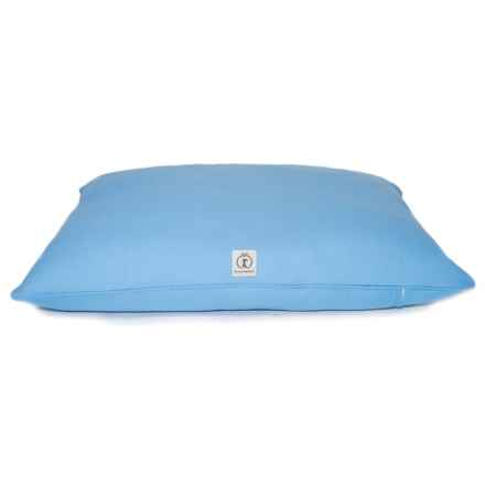 "Harry Barker Solid Canvas Envelope Dog Bed - Small, 30x24"" in Blue - Closeouts"