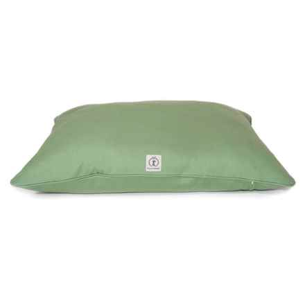 """Harry Barker Solid Canvas Envelope Dog Bed - Small, 30x24"""" in Green - Closeouts"""