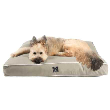 """Harry Barker Solid Rectangle Dog Bed - Medium, 36x29"""" in Tan - Closeouts"""