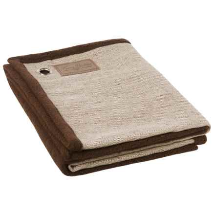 """Harry Barker Tweed Dog Blanket - 29x39"""" in Brown - Closeouts"""