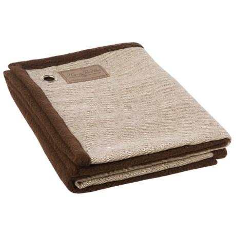 "Harry Barker Tweed Dog Blanket - 29x39"" in Brown"