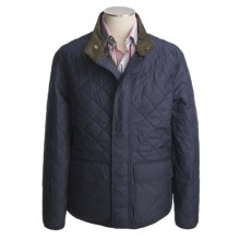 Hart, Schaffner & Marx Quilted Grant Coat (For Men) in Navy - Closeouts