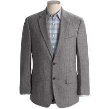 Haspel Camelhair Herringbone Sport Coat (For Men) in Grey - Closeouts