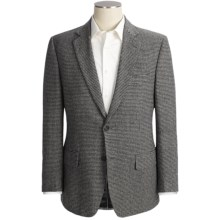 Haspel Houndstooth Sport Coat - Camel Hair (For Men) in Black/White - Closeouts