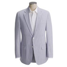 Haspel Seersucker Suit (For Men) in Blue/White - Closeouts