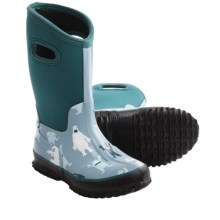 Hatley All-Weather Wellington Rain Boots (For Boys and Girls) in Ice Monster - Closeouts