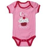 Hatley Applique Baby Bodysuit - Short Sleeve (For Infants)