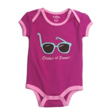Hatley Applique Romper - 1-Piece (For Infants) in Surfer Girl/Shades Of Summer - Closeouts