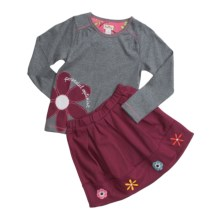 Hatley Birds and Flowers Play Set - 2-Piece, Long Sleeve (For Girls) in Birds/Flowers - Closeouts