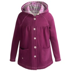 Hatley Button-Down Jacket - Hooded (For Girls) in Plaid