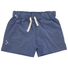 Hatley Classic Shorts (For Girls) in Blue - Closeouts