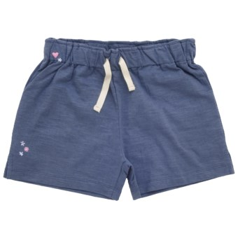 Hatley Classic Shorts (For Girls) in Blue