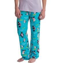 Hatley Cotton Jersey Pants (For Women) in Golf Animals - Closeouts