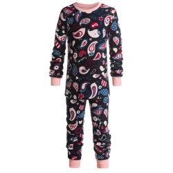 Hatley Cotton Pajamas - Long Sleeve (For Kids) in Figure Skates