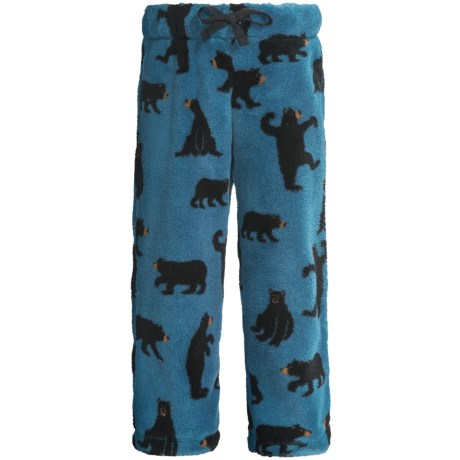 Hatley Fuzzy Fleece Pants (For Kids) in Space Ships