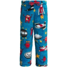 Hatley Fuzzy Fleece Pants (For Kids) in Space Ships - Closeouts