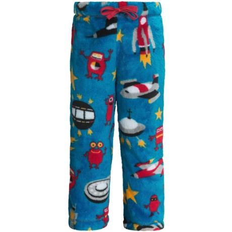 Hatley Fuzzy Fleece Pants (For Kids) in Space Ships