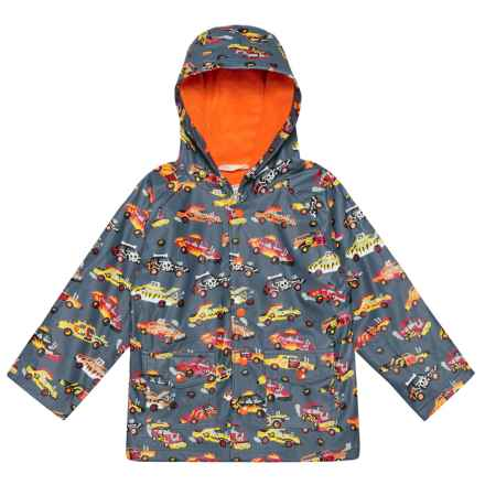 Hatley Hooded Rain Coat (For Kids) in Demolition Derby - Closeouts