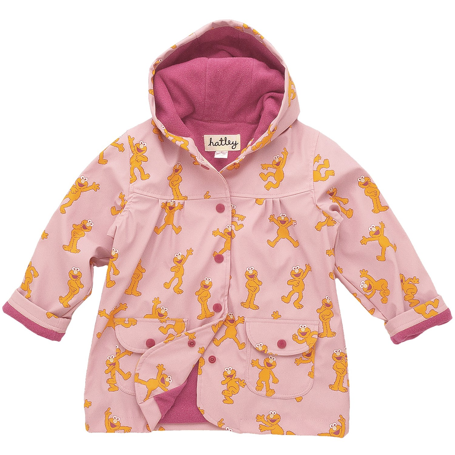 Hatley Rain Hatley Hooded Terry-lined Rain