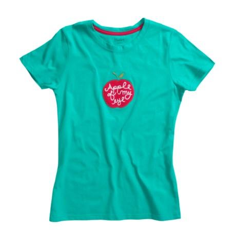 Hatley Jersey Shirt - Short Sleeve (For Women) in Apple